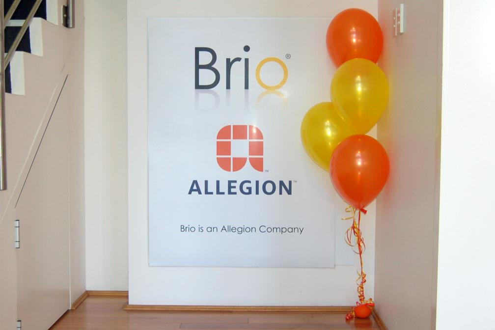 Brio and Allegion